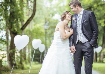 Jenny & Florian 23.08.2014 / 60 Hochzeitsgäste / Flieder Romantisch