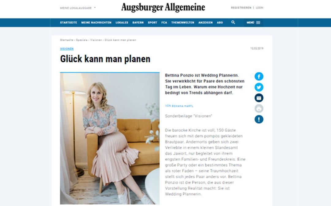 Vielen Dank #@augsburgerallgemeine für diesen tollen Artikel. 😍