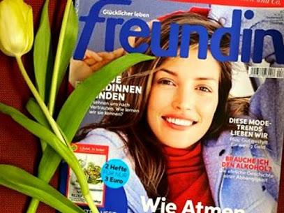 Ein Interview im Freundin Magazin!