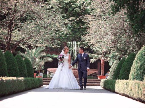 Nadine & Viktor 16.06.2018 / 60 Hochzeitsgäste / Altrosa – Rosegold