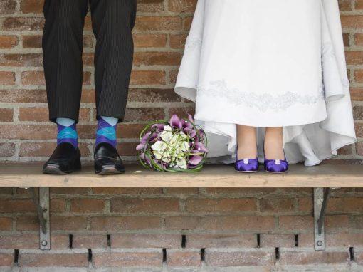 Bianca & Markus 02.06.2018 / 40 Hochzeitsgäste / Lila trifft Star Wars