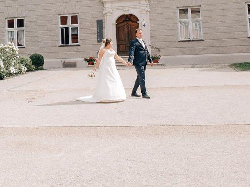 Sabrina & Rainer 28.07.2018 / 90 Hochzeitsgäste / Sommerhochzeit in Altrosa – Gold