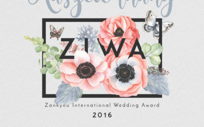 Gewinner des Zankyou International Wedding Awards ZIWA 2016